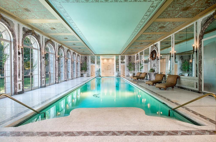Indoor Pools In Mansions