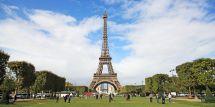 Paris Eiffel Tower Landscape