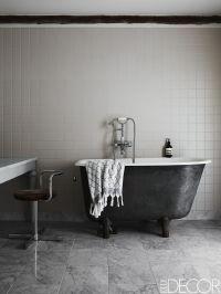 20 Black and White Bathroom Decor & Design Ideas