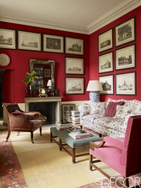 10 Rooms with Red Walls - Red Bedroom and Living Room Ideas