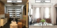 Home Makeover For A Brooklyn House - Living Room Design ...
