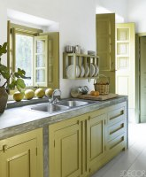 10 Green Kitchen Design Ideas   Paint Colors for Green ...