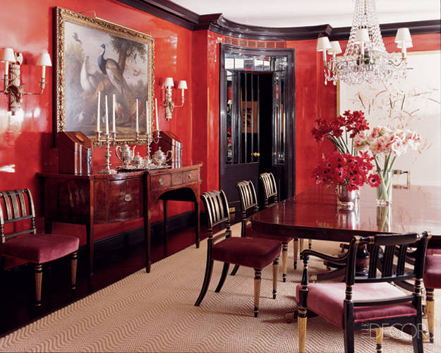 Red Room Decor And Ideas Images