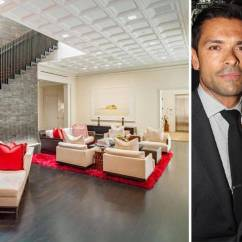 Best Sofa Stores Distressed Kelly Ripa Mark Consuelos Penthouse Home - Celebrity Homes ...
