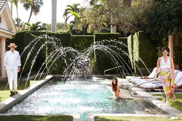Laura And Harry Slatkin' Palm Beach Home