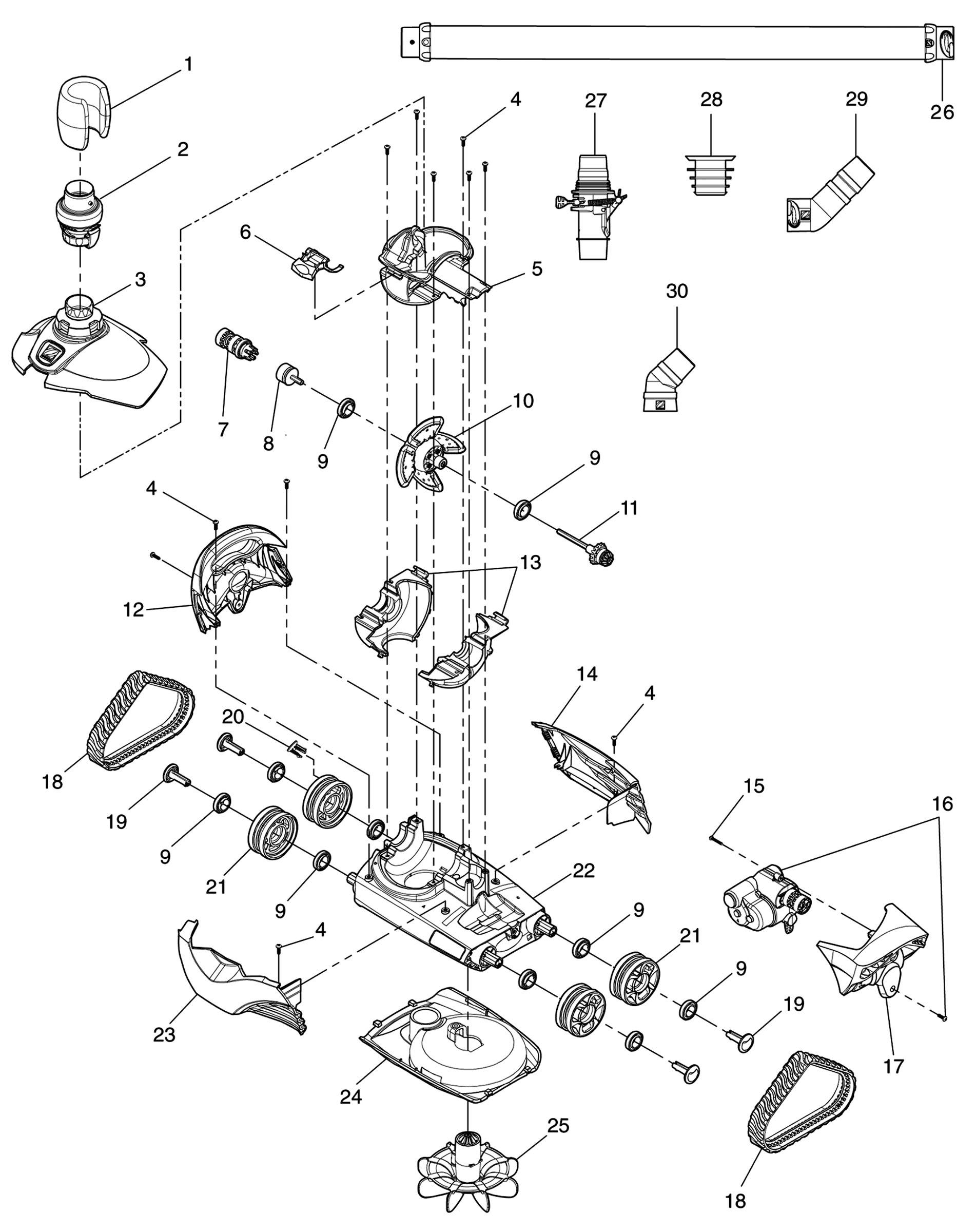 Maytronic Pool Cleaner Wiring Diagram