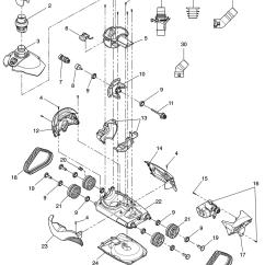 Baracuda Pool Cleaner Parts Diagram Light Dimmer Wiring Zodiac Mx6 Replacement Product Image