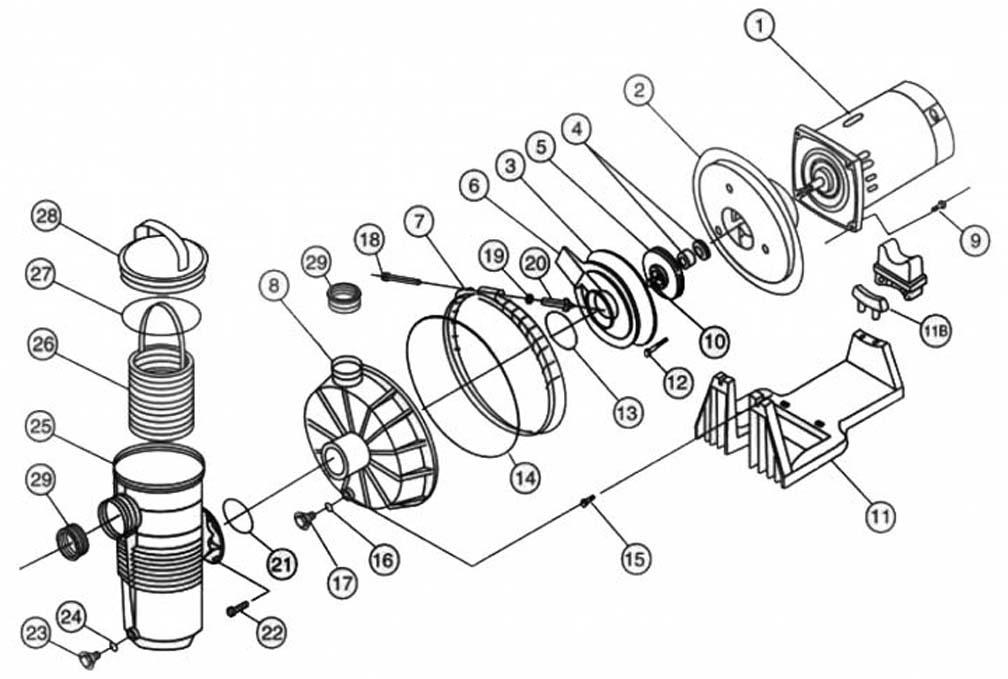 Pentair Challenger High Pressure Pump Parts