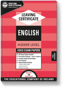 Leaving Certificate English Higher Level 2017
