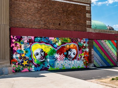 Graffiti Wall (detail)