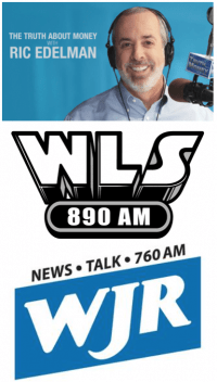 WLS 890 AM, 10 a.m., Sunday