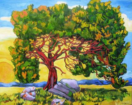 "Juniper Sunrise, 24"" x 30"", with 16% Discount, $1,815"