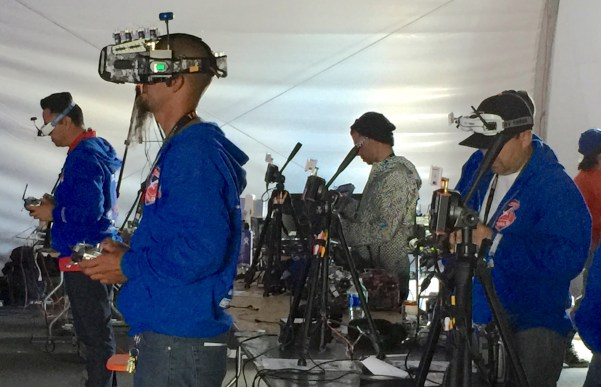 FPV Racers at Bay Area Maker Faire 2016