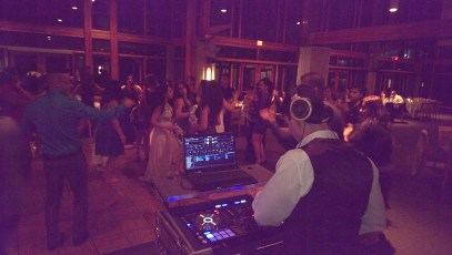 DJ Eddie at Randa & Morees Engagement 4