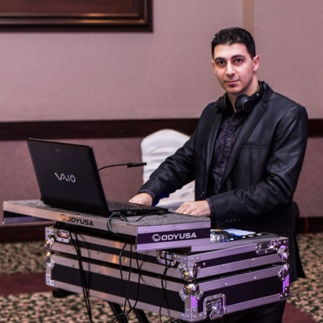 DJ Eddie at a Baptism Party