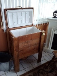 Patio Cooler Stand. Project #2 | Eddie & Steph