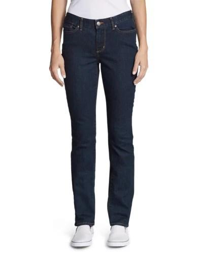 Women   stayshape straight leg jeans curvy also eddie bauer rh eddiebauer