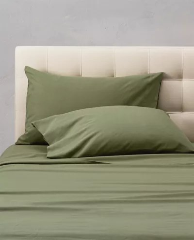 flannel pillowcase set solid