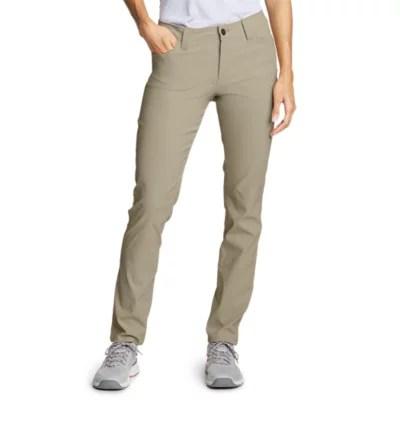 Women   horizon guide pocket slim straight pants also petite clothing eddie bauer rh eddiebauer
