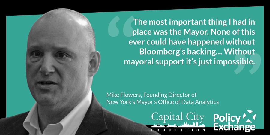 Mike Flowers - The most important thing I had was the Mayor