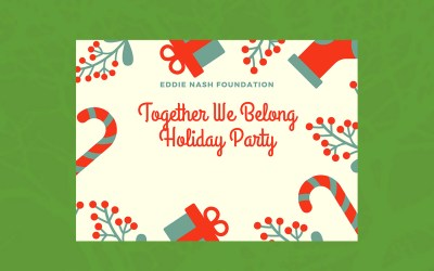 Together We Belong Holiday Party Registration is Closed