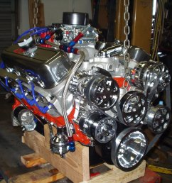 chevy crate engines chevy 540 640 hp stage five big block crate engine eddies performance [ 1600 x 1200 Pixel ]