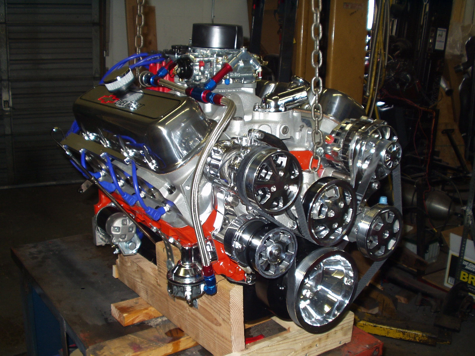 350 oil flow diagram ford f250 stereo wiring chevy crate engines :eddies performance motors-high engines, engine, racing ...