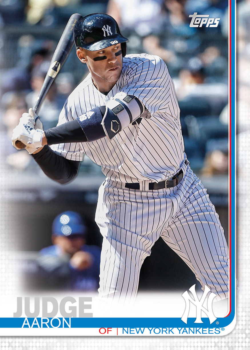 2019 Topps Baseball Design Eddies Sports Treasures