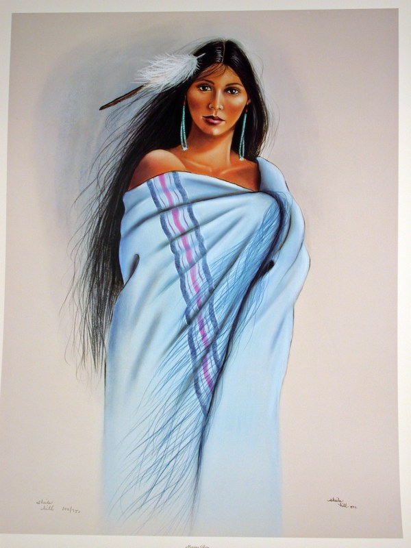 Native American Woman Art