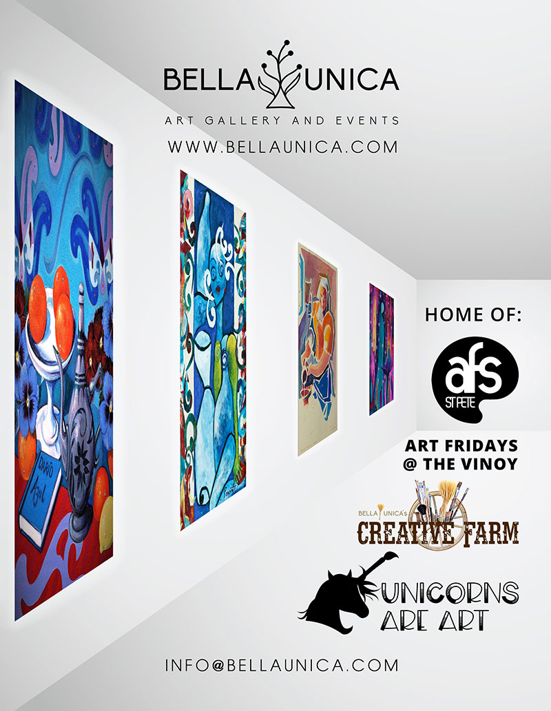 Bella Unica Art Gallery and Events ad