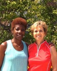 Donna Fullerton and Sharon Brick
