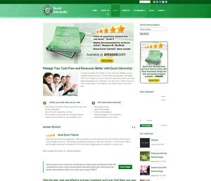 Excel University Book Page