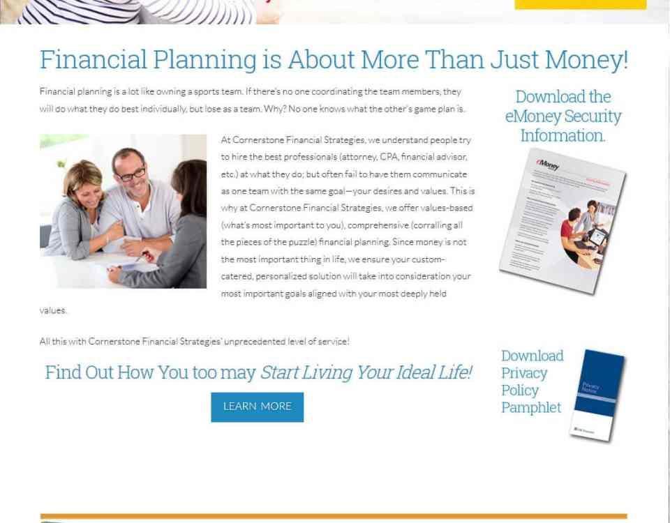 Cornerstone Financial Strategies