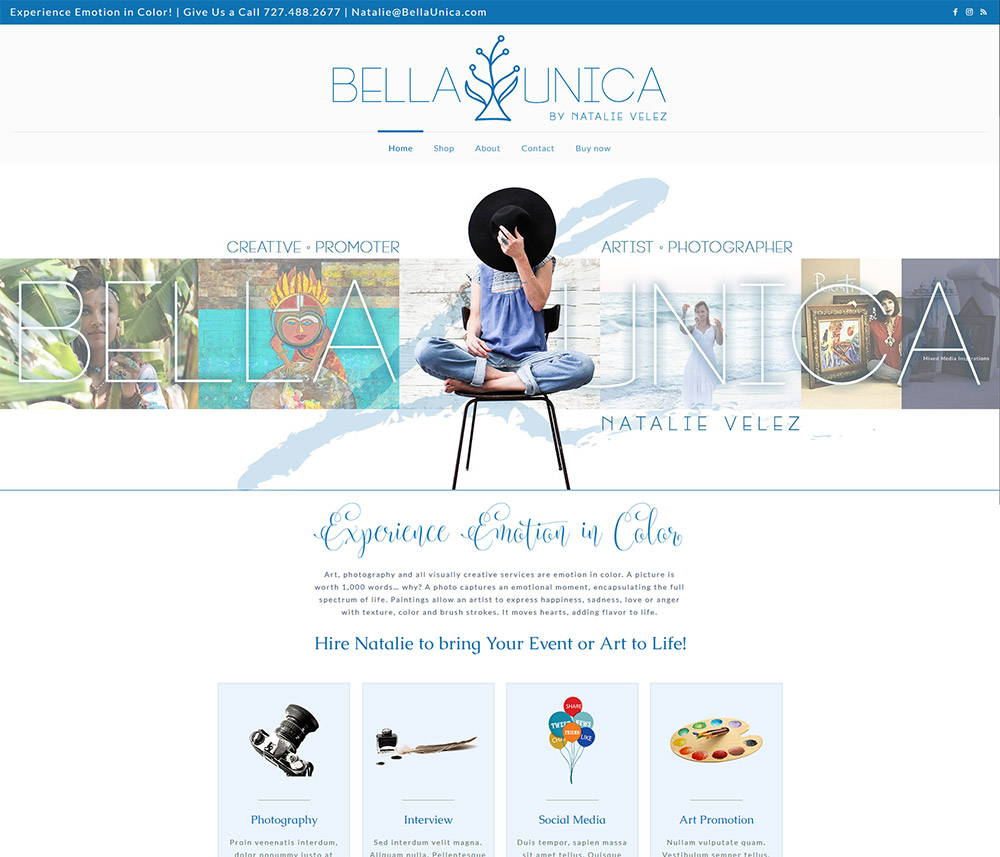 New Bella Unica - Natalie Velez