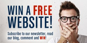 Win a FREE Website!