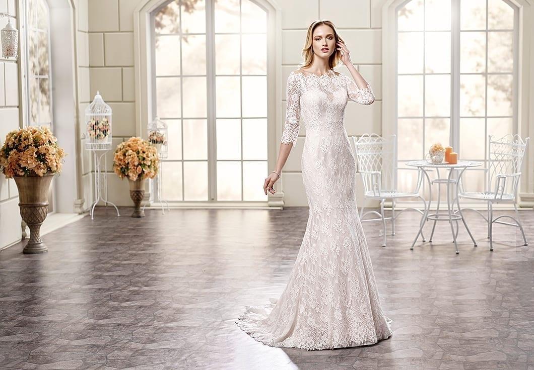 10 Beautiful Long Sleeve Wedding Dresses 2018