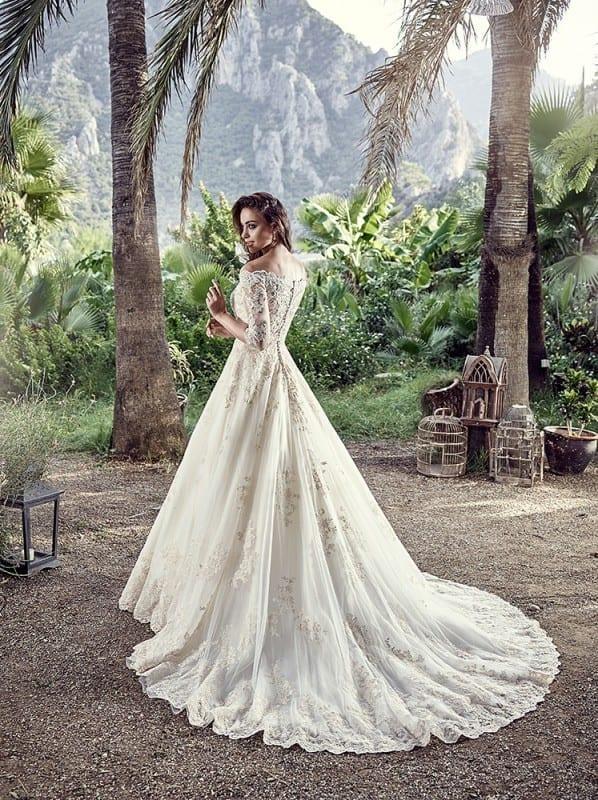 Messina back  Eddy K Bridal Gowns  Designer Wedding
