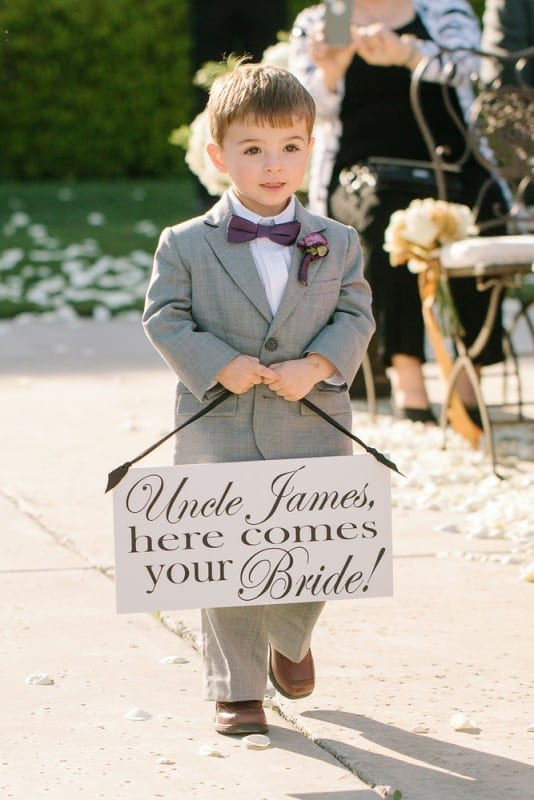 Sunday Inspiration 19 Cute Signs for Ring Bearers  Eddy K Bridal Gowns  Designer Wedding