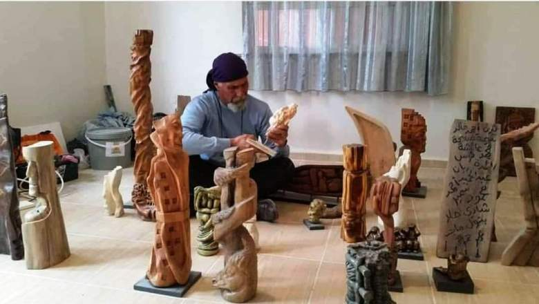 Ölümü ve yaşamı taşlara işleyen Heykeltıraş: Akram Saffan