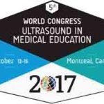 World Congress Ultrasound in Medical Education, October 12-15, 2017, Montréal