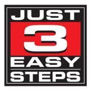 3 steps