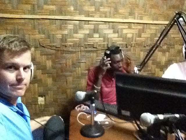 Shinar on Cameroon Radio Show