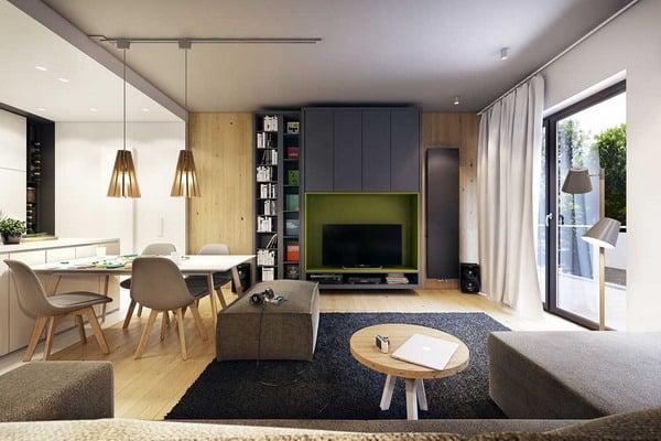 Modern Living Room Wallpaper Trends 2020-2021 ...
