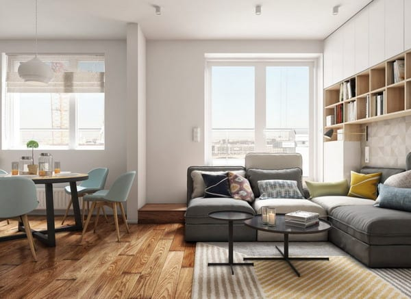 Ideas For Decorating The Living Room In A Modern Style ...