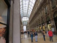 Galleria Vittorio Emanuele II Promenade