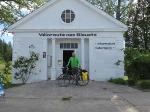 Veloroute des Bleuets Information Center, Alma, Quebec