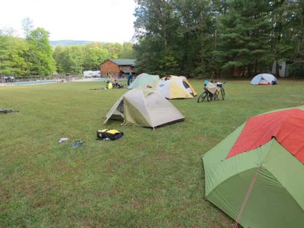 Little Orleans Campground Tent Sites