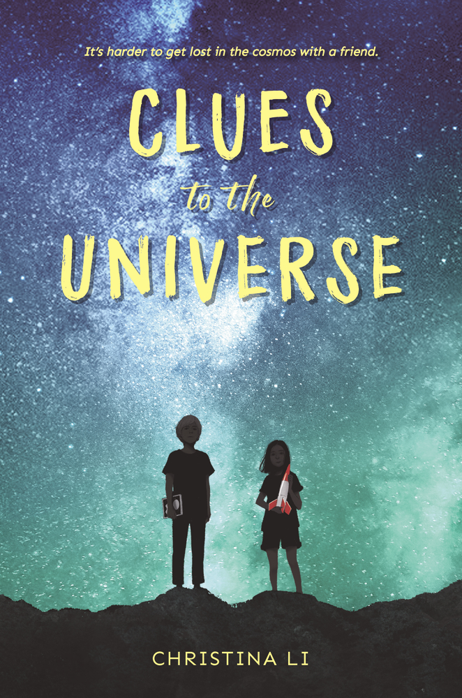 Book cover: Clues to the Universe by Christina Li