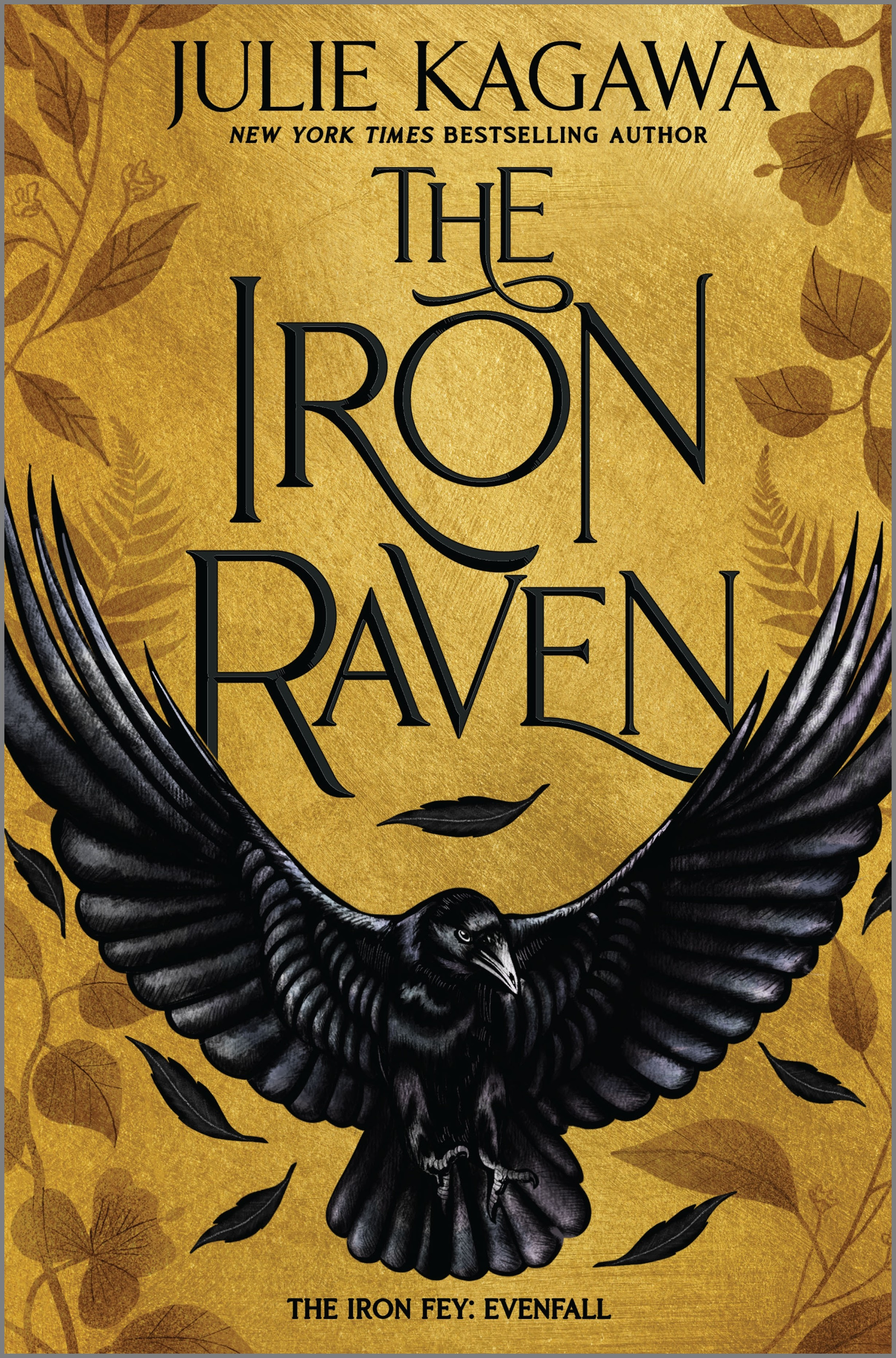 Book cover: The Iron Raven by Julie Kagawa