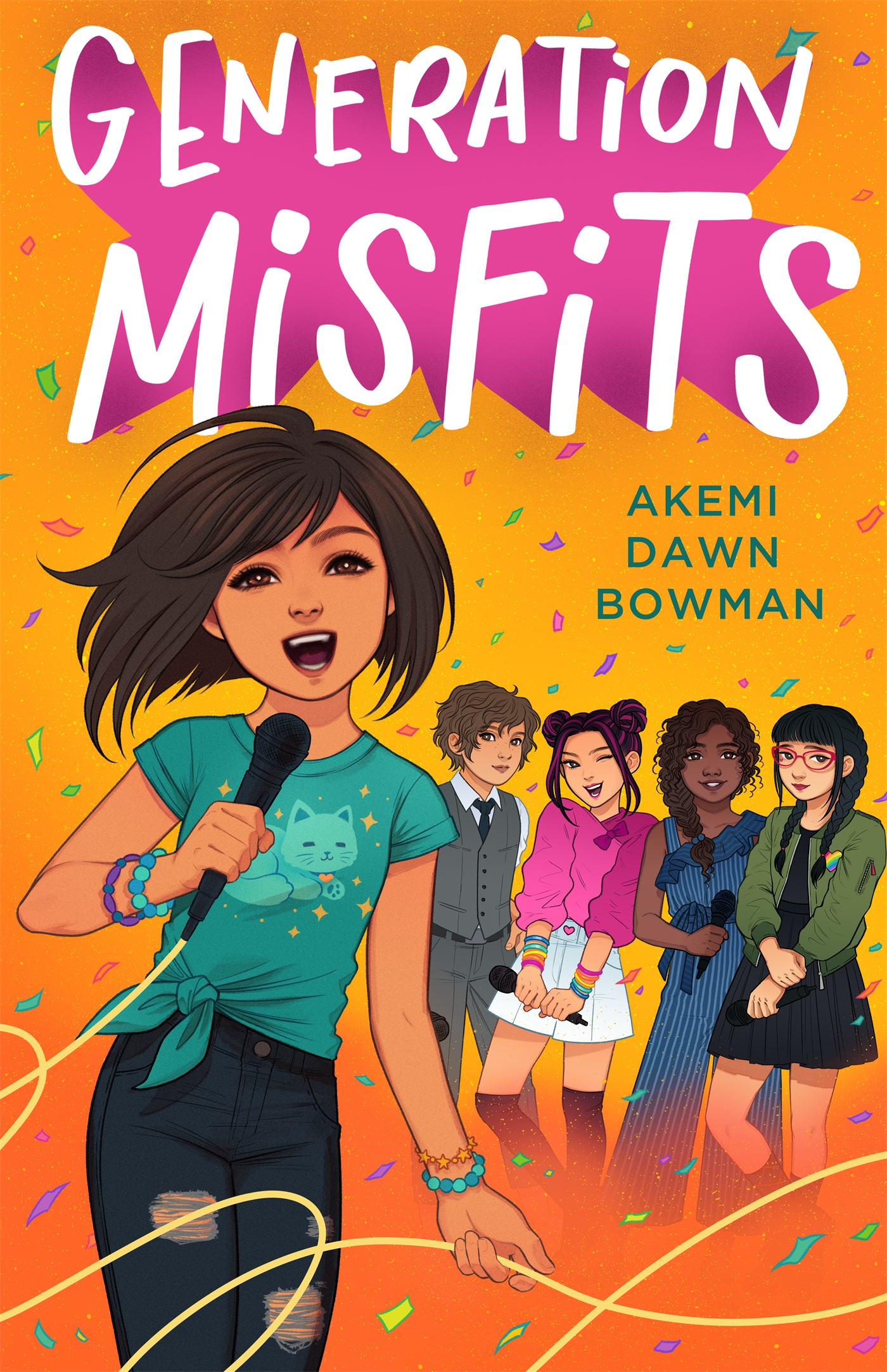 Book cover: Generation Misfits by Akemi Dawn Bowman